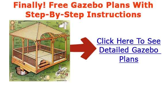 Screened gazebo construction blueprints building up for Build your own house step by step
